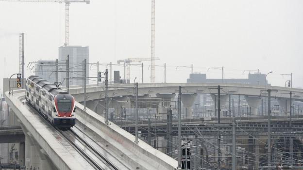 Steiler als am Gotthard - die neuen Bahnbrücken bei Zürich
