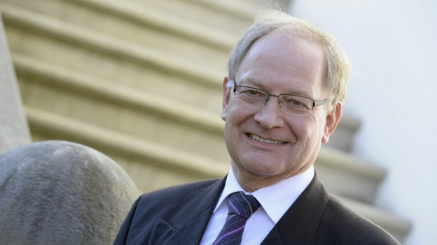 Will nicht auf seine Steuerstrategie reduziert werden: Der Obwaldner Regierungsrat Hans Wallimann.