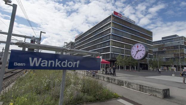 Kein Extrahalt für IC-Züge beim SBB-Hauptsitz beim Berner Wankdorf-Areal.