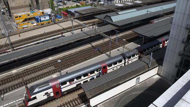 Soll unterirdisch erweitert werden: der Bahnhof Genf-Cornavin.