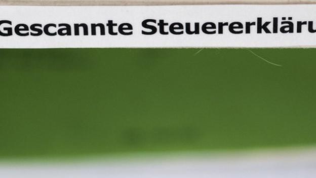 Die RR Donnelley scannt auch Solothurner Steuerdaten.