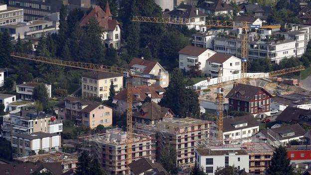 Die Stadt Zug.