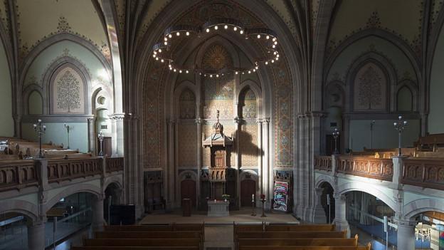 Die Matthäuskirche in Basel ist derzeit besetzt
