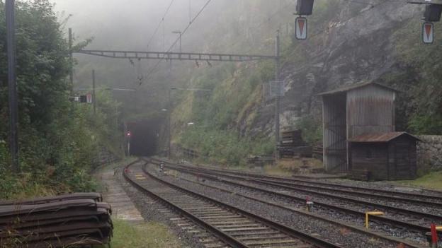 Der Weissensteintunnel zwischen Oberdorf und Gänsbrunnen