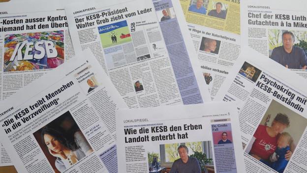 Die Zeitung «Obersee Nachrichten» berichtete in der Vergangenheit wiederholt über angebliche Fehler bei der Kesb Linth.