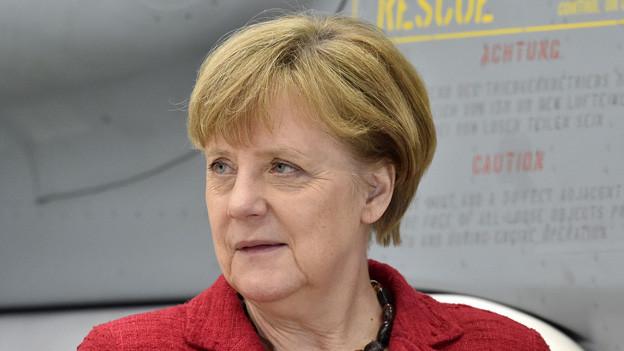 Es geht auch um ihren Schutz: Angela Merkel wird zur Eröffnung der Neat am 1. Juni in Uri erwartet.