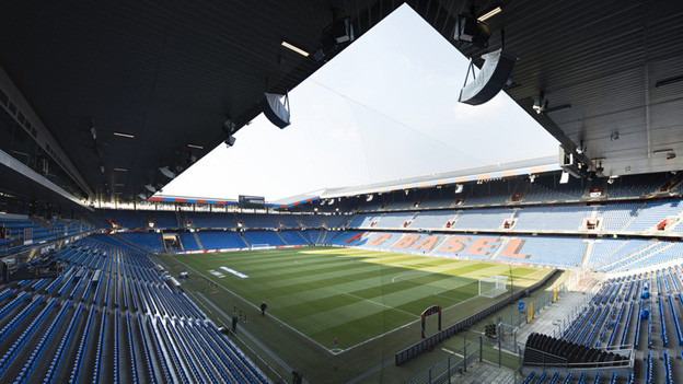 Austragungsort des Europa-League-Finalspiels: der Basler St. Jakob-Park.