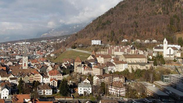 Der Bischofssitz in Chur: von hier aus werden auch die Zürcher Katholikinnen und Katholiken geführt.