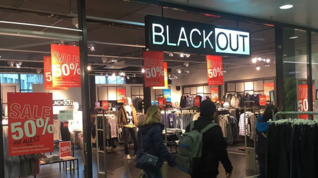Ein Drittel der Blackout-Fililale bleibt erhalten