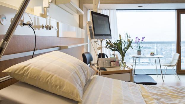 Spitalbett gleich Touristenbett?