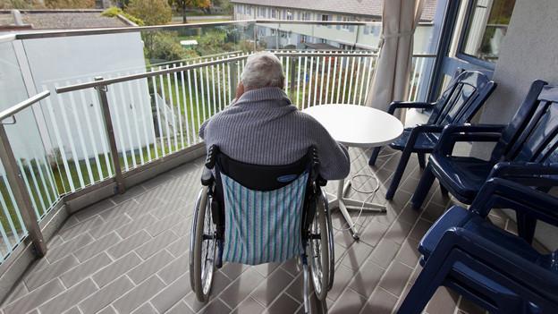 Alte Menschen leiden häufig stumm unter häuslicher Gewalt.