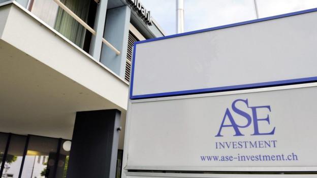 Die ASE Investment hatte ihren Sitz im Fricktal