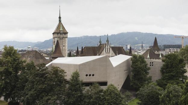 Der neue Anbau des Landesmuseums in Zürich