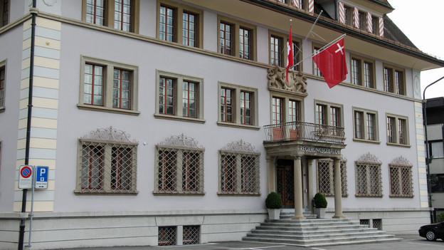 Das Schwyzer Regierungsgebäude.