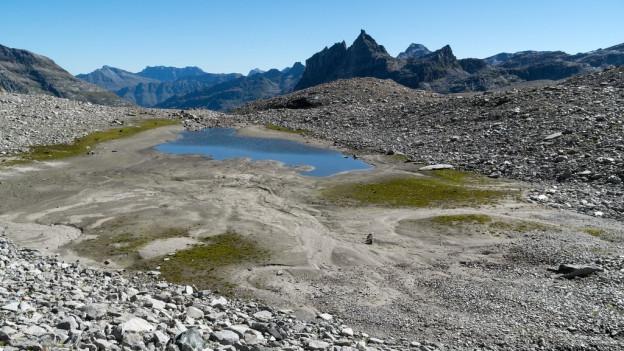 Ein namenloser Bergsee in der geplanten Kernzone des Parc Adula.