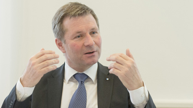 Finanzdirektor Schwerzmann muss die Kantonsfinanzen sanieren.