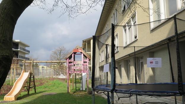Das alte Pflegezentrum beim Spital Zofingen wird abgerissen.