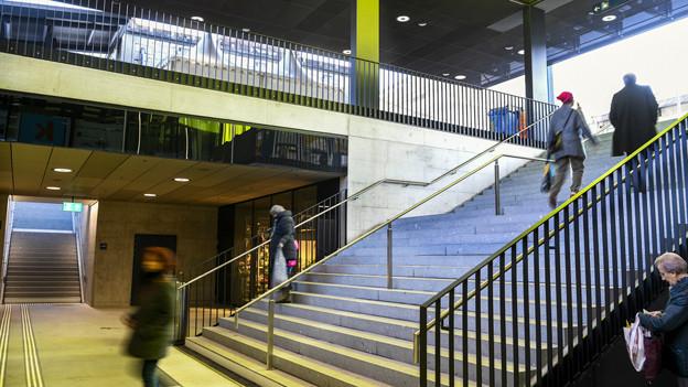 Der Bahnhof Oerlikon soll das Quartier besser verbinden.
