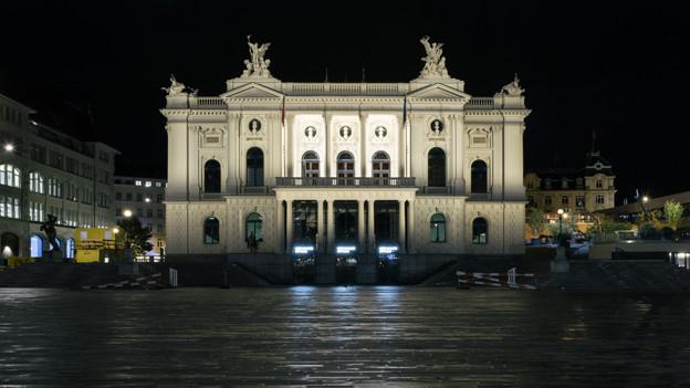 Etwas weniger Geld für die Kultur in Zürich.
