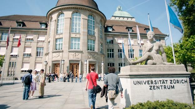 Hauptgebäude der Universität Zürich