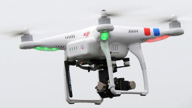 Drohnen können hochauflösende Aufnahmen machen.