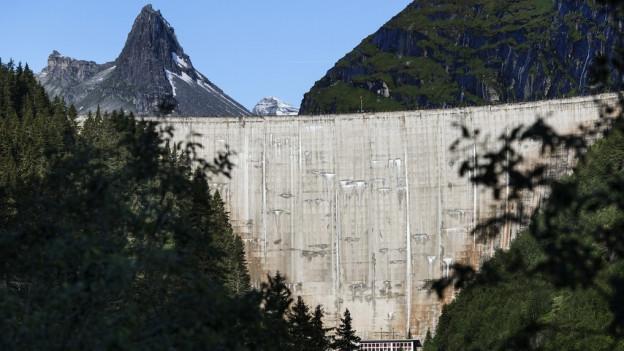Der Zervreilasee im Valsertal hat so wenig Wasser wie seit 25 Jahren nicht mehr