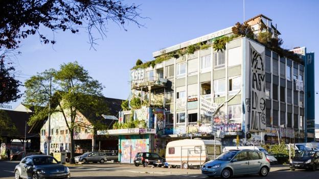 Das Koch-Areal in Zürich sorgt in Zürich seit längeree Zeit für Diskussionen