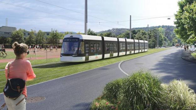 Das neue Tram würde gut 13 Kilometer zurücklegen.