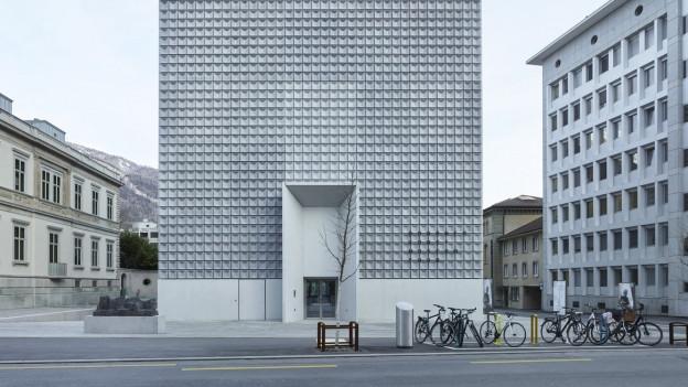 Kunstmuseum inmitten der Stadt Chur