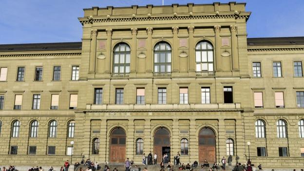 Die ETH Zürich ist Bestandteil des Hochschulquartiers.