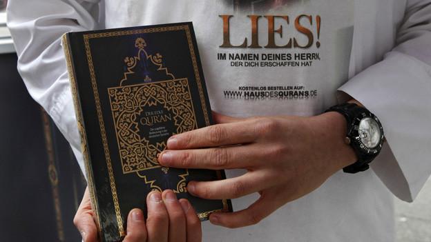Bern will Koranverteilung verbieten