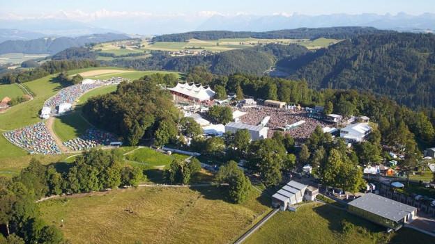 Nächstes Jahr wird das Gelände des Gurtenfestivals deutlich vergrössert. Wo bisher Zelte standen, ist neu eine Bühne.