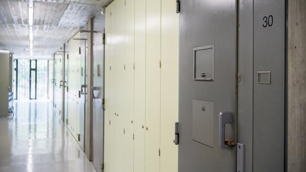Zellentüren im Thorberg.
