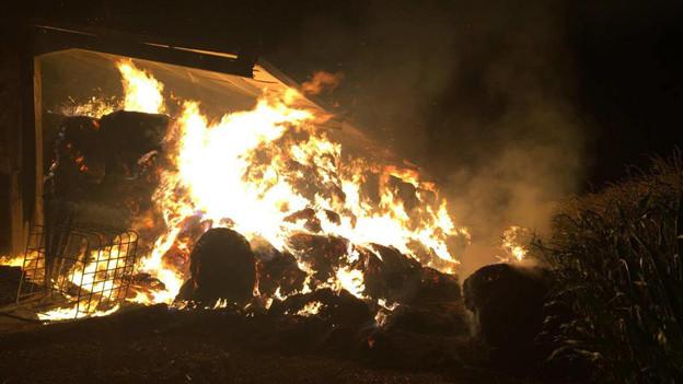 12 Brände in der Region zwischen Murten und Payerne.
