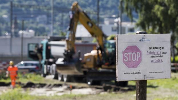 Im Oberwallis sind Grundstücke mit Quecksilber belastet