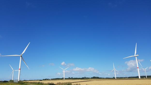 So viele Windräder wie an der Nordsee wird es in der Schweiz trotz neuen Anstrengungen wohl nicht geben.