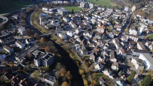 Die Häuserfassaden von Wattwil sollen aufgefrischt werden.