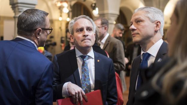 Markus Hungerbühler von der Zürcher CVP ist enttäuscht über das schlechte Wahlresultat