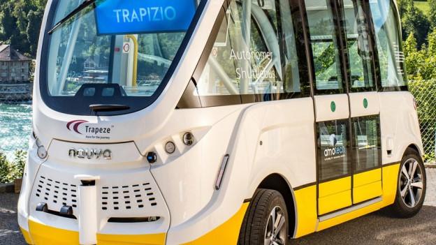Schaffhausen testet selbstfahrenden Bus