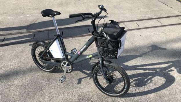 Ein Fahrrad von «Züri Velo».