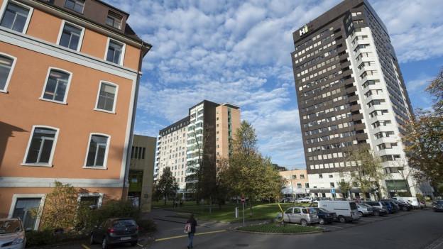 Das Kantonsspital St. Gallen wäre noch eines von vier Spitälern im Kanton.