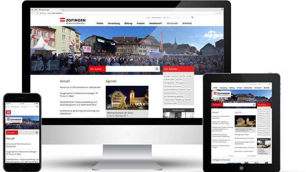 Nur noch digital: Die amtlichen Publikationen von Zofingen.