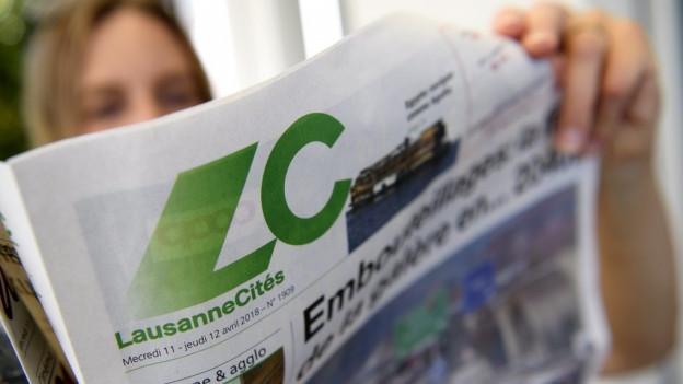Die Gratiszeitung «Lausanne Cités» wird auch zum Amtsblatt.