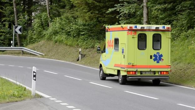 Zentralschweizer Ambulanzen sollen schneller vor Ort sein