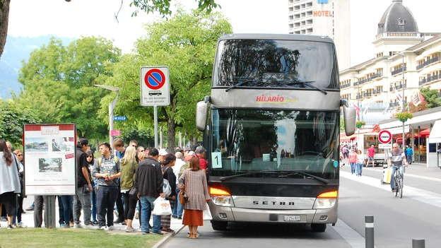 Reiseanbieter, die in die Innenstädte fahren wollen, sollen zur Kasse gebeten werden.