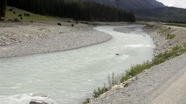 Wenn ein Fluss mehr Platz hat, ist das umliegende Land besser vor Hochwasser geschützt.