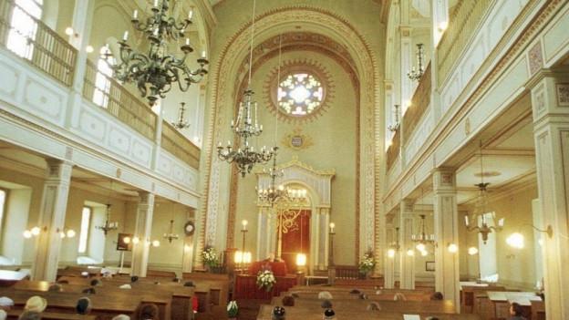 Synagoge in Lengnau.