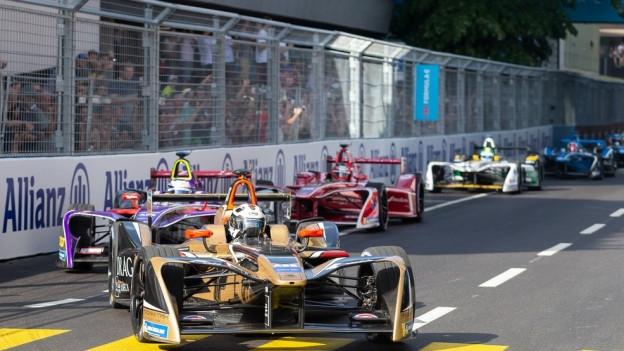 In Zürich fand erstmals in der Schweiz ein Formel-E-Rennen statt.