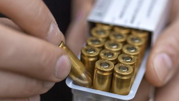 Der ehemalige Logistikchef soll Munition abgezweigt haben.