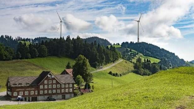 So hätte der Windpark ausgesehen.
